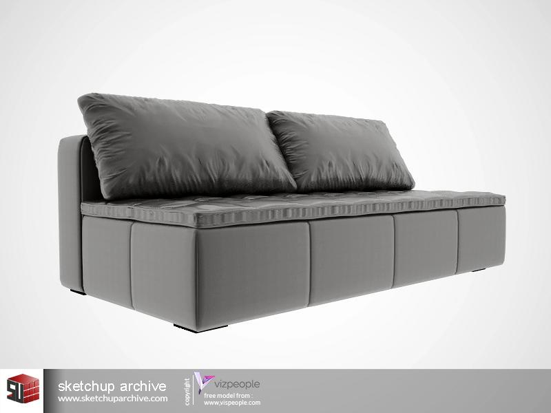BO CONCEPT Mezzo Sofa Sketchup Archive